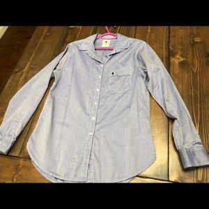 Aritzia Talula boyfriend dress shirt M